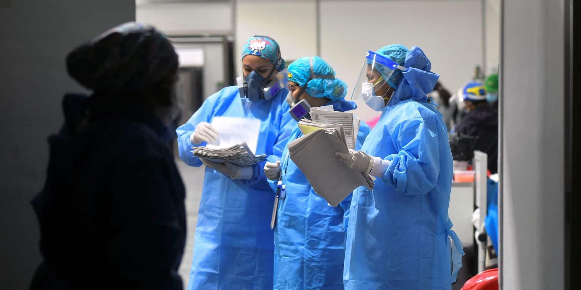 """L'OMS met en garde: """"Nous sommes dans une période très dangereuse de cette pandémie"""""""