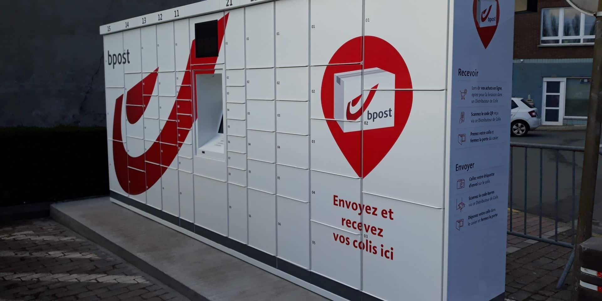 Un distributeur de colis installé dans le centre-ville de Wavre