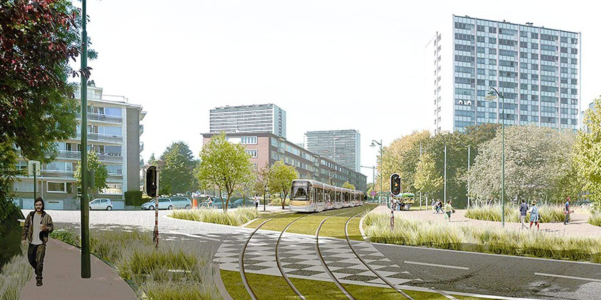 Bruxelles: les travaux de prolongement du tram 9 vont démarrer