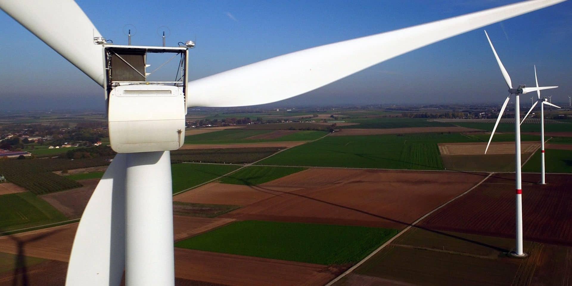 Un parc de 7 éoliennes en projet à côté du plan incliné de Ronquières