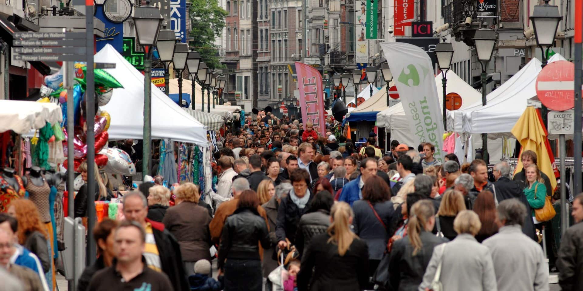 """4 jours de """"commerce"""" à Liège, du 23 au 26 juin"""