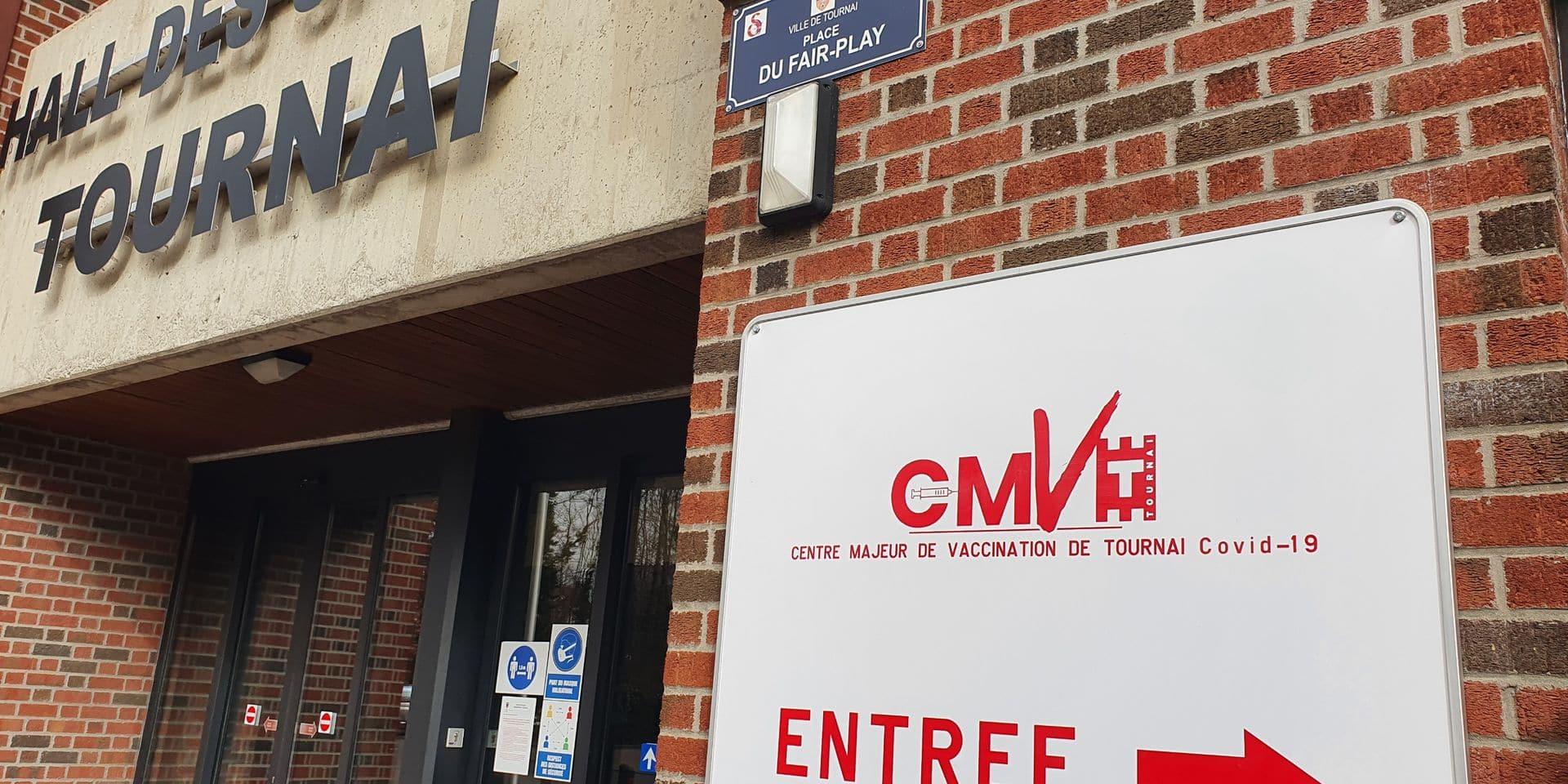 Deux lignes supplémentaires pour le centre majeur de vaccination tournaisien