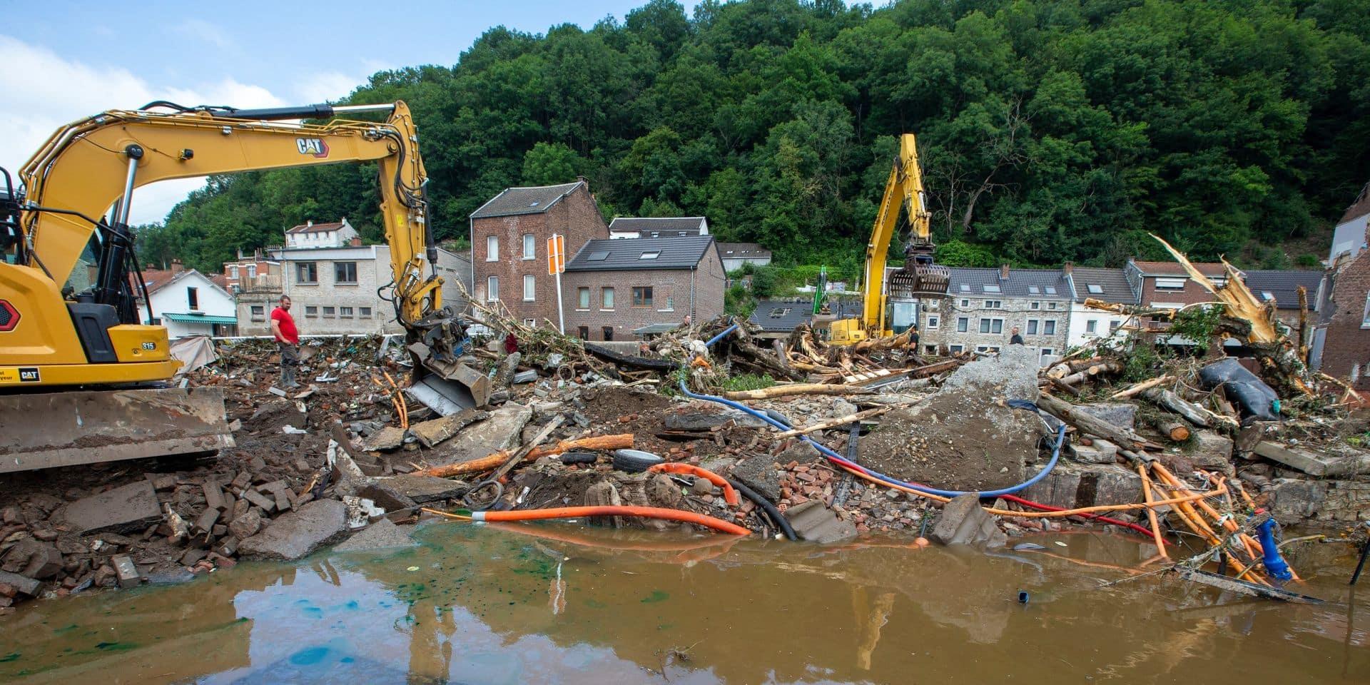 Intempéries : Plus de 1.000 personnes ont dû quitter leur maison à Pepinster