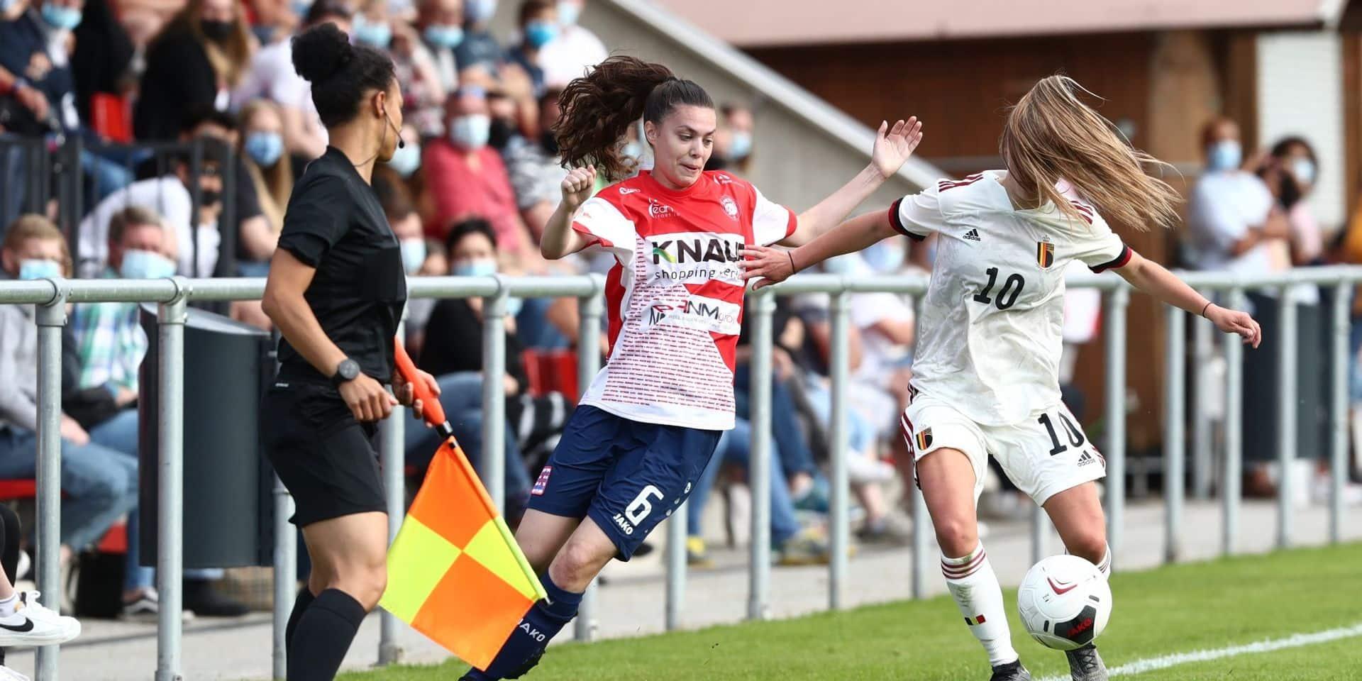 L'équipe C des Red Flames prend la mesure du Luxembourg (0-1)