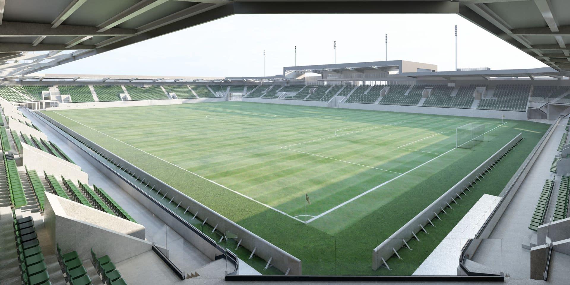 """Construction d'un nouveau stade par la RAAL à La Louvière: première rencontre """"difficile"""" entre la ville et le club"""