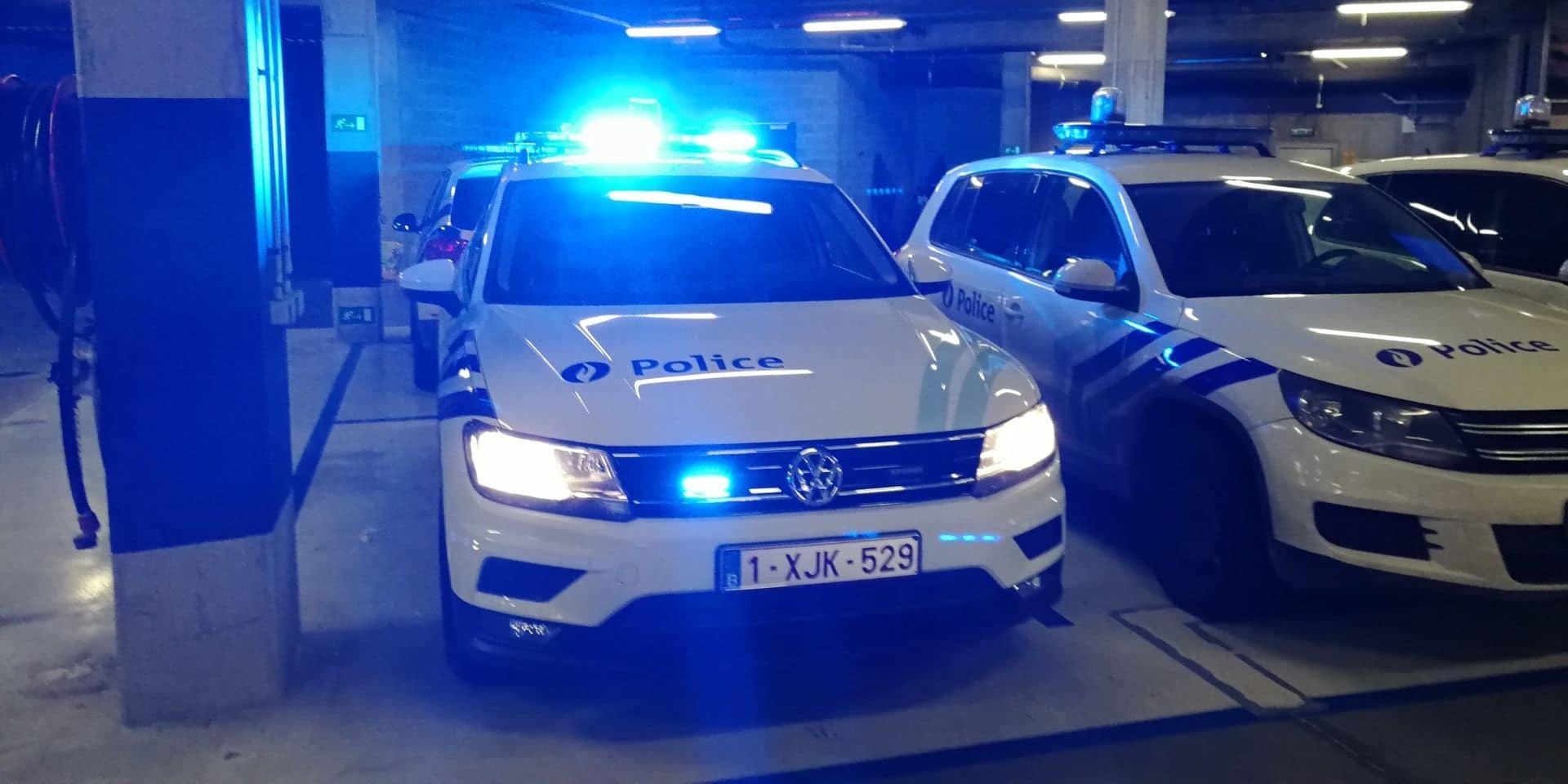 Un tiers de la flotte de la police de Charleroi sera remplacée en 2020