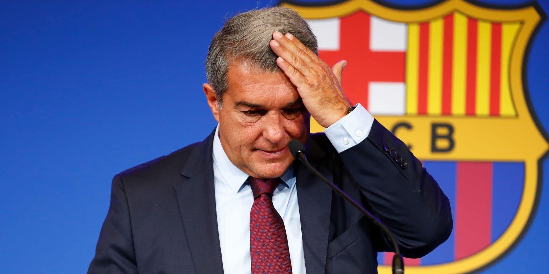 Une situation financière dramatique au Barça: le plafond salarial chute de près de 300 millions d'euros, celui du Real s'envole