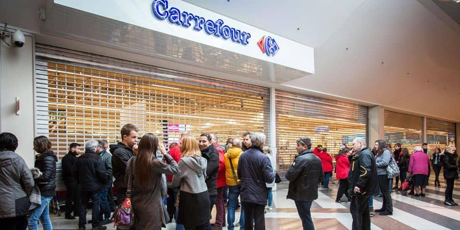 Le Carrefour de Belle-Ile fermé jusqu'à lundi — Liège