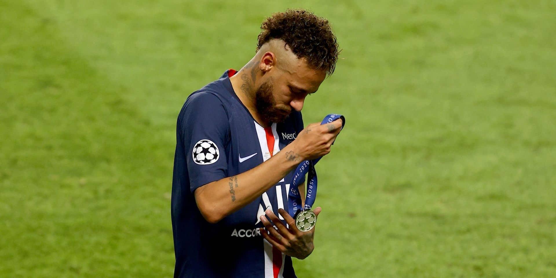 Les félicitations ratées de Neymar pour le Bayern Munich après la finale perdue
