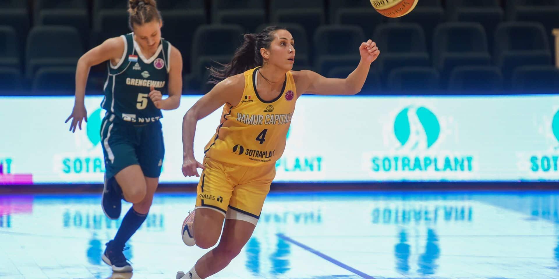 Fin de l'aventure européenne pour Basket Namur Capitale battu par Cadi La Seu (51 - 45)