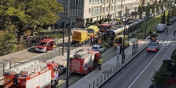 Terrible accident à Jette : l'enfant fauché par un tram est hors de danger - La DH
