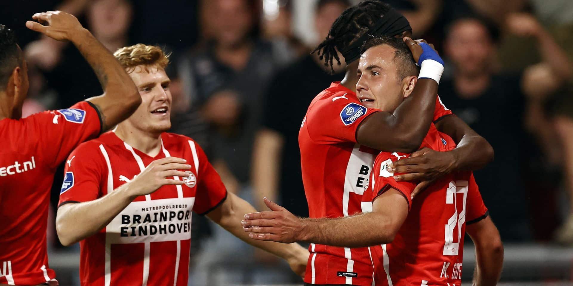 2e tour préliminaire aller: le PSV presque qualifié, l'Olympiakos en bonne voie