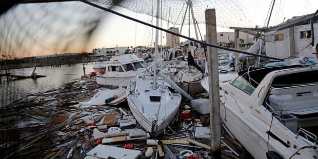Le bilan humain s'alourdit après le passage de l'ouragan Michael, des scènes de désolation - La DH