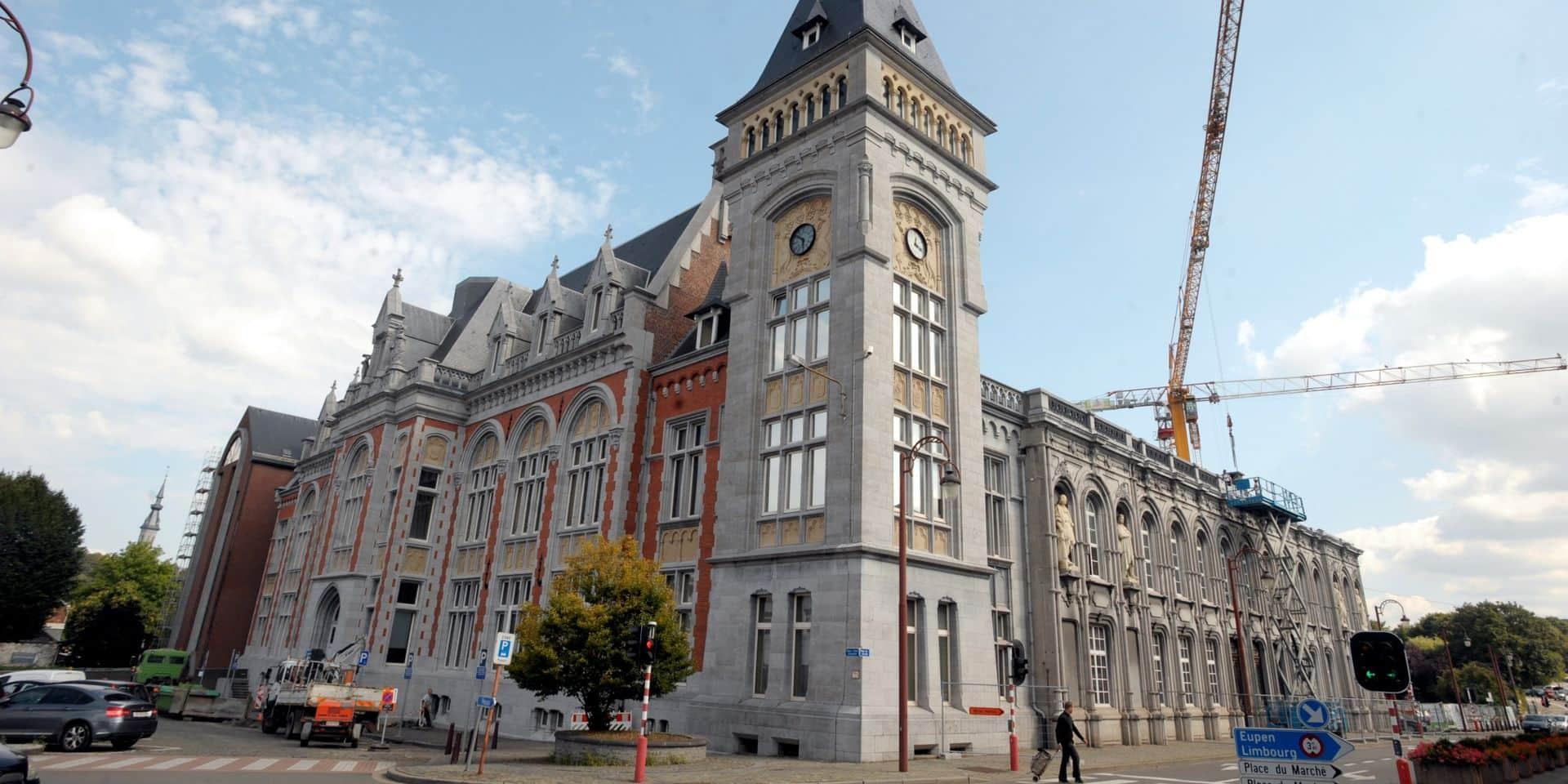 Le palais de justice de Verviers ciblé par un tir d'arme à feu