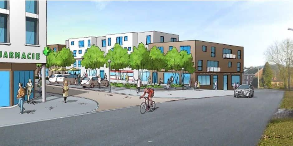 Courcelles: un nouveau quartier avec 160 logements