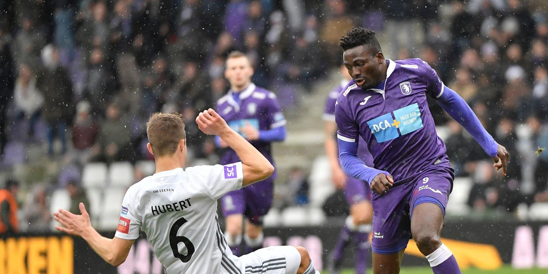 Le Beerschot bat Oud-Heverlee Louvain en finale aller pour la montée en Jupiler Pro League