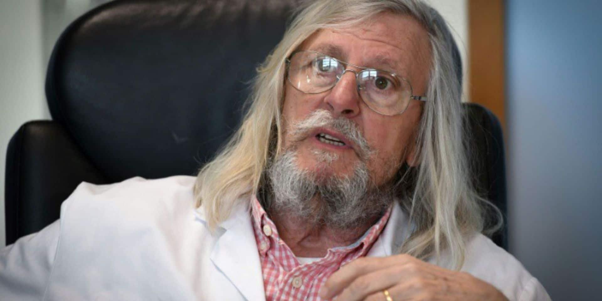 """Un vaccin pour guérir du coronavirus ? """"Pour une maladie non immunisante, c'est un défi idiot"""" juge Didier Raoult"""