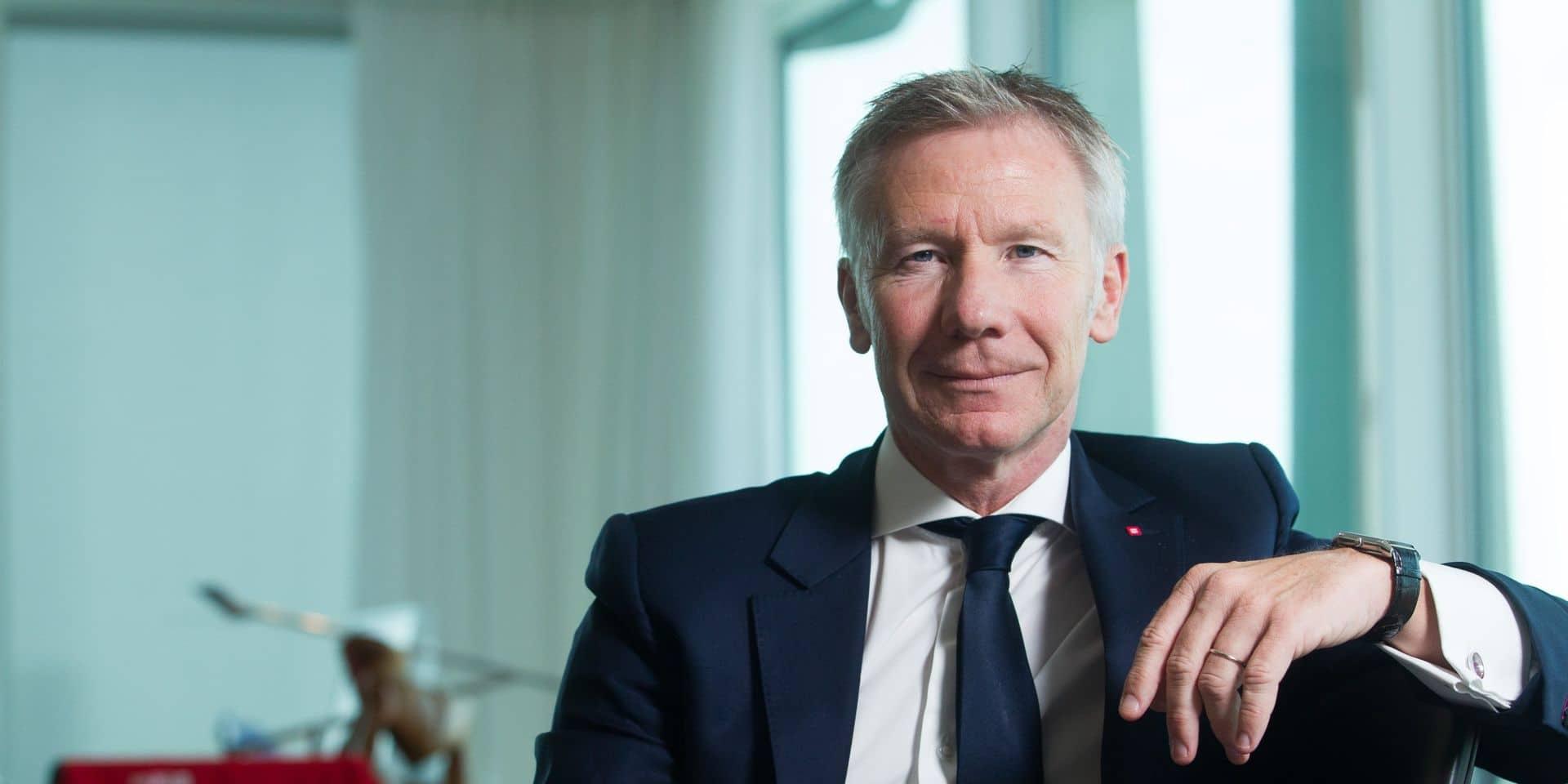 Le CEO de Belfius s'excuse après ses propos polémiques sur les faillites