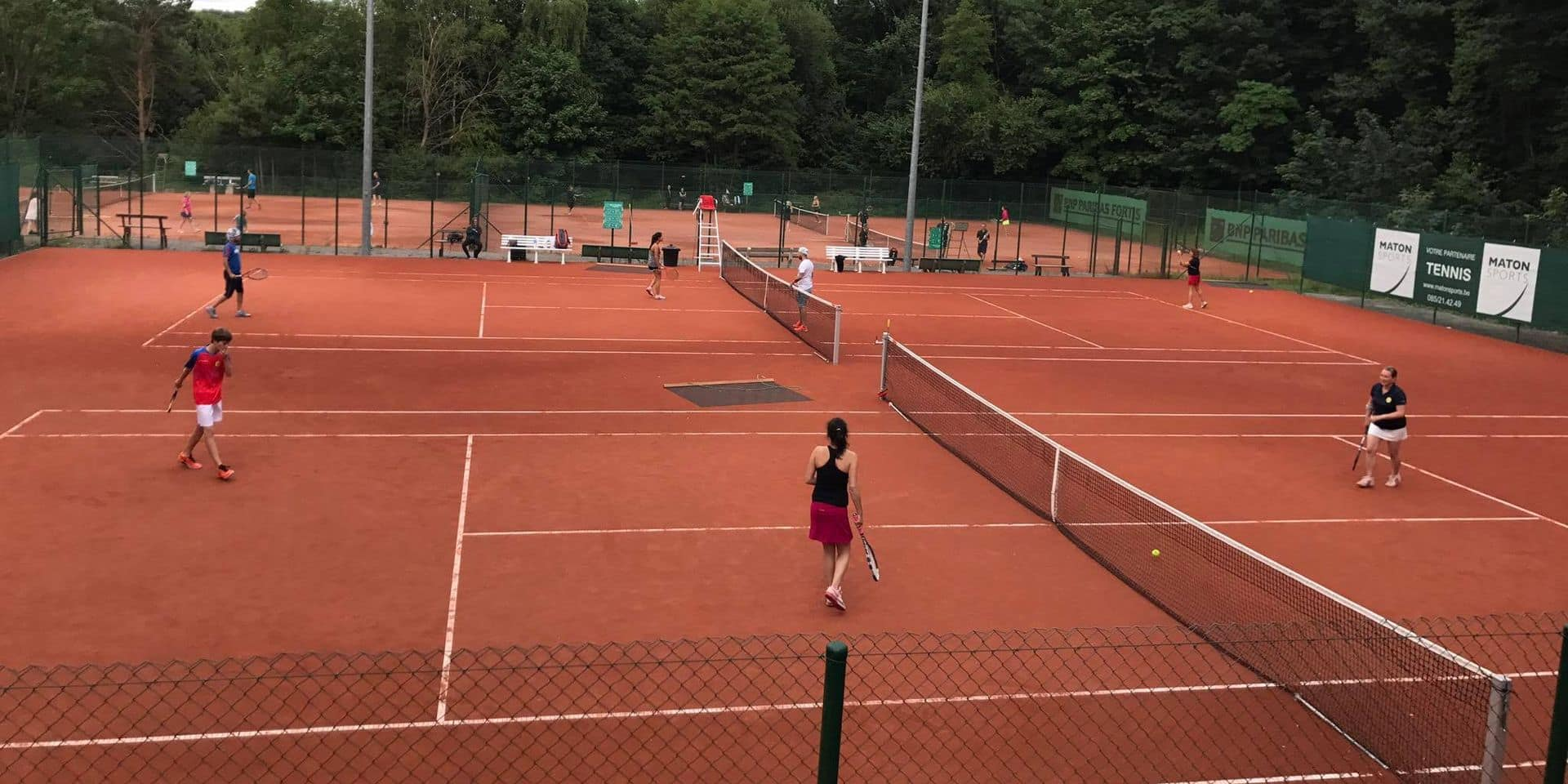 Tennis: le tournoi Messieurs 1 de Seraing devant maximum 100 personnes