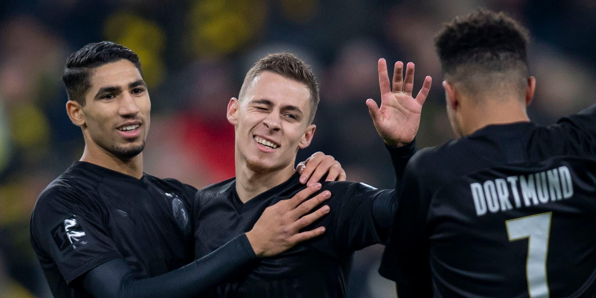 Thorgan Hazard et le Borussia Dortmund décollent