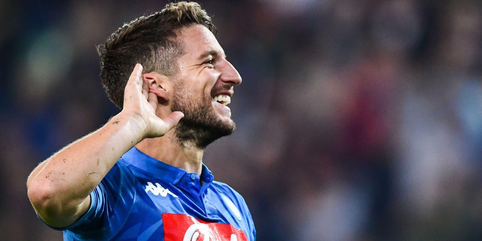 Dries Mertens en grande forme lors de la victoire de Naples face à l'Udinese (VIDEO)