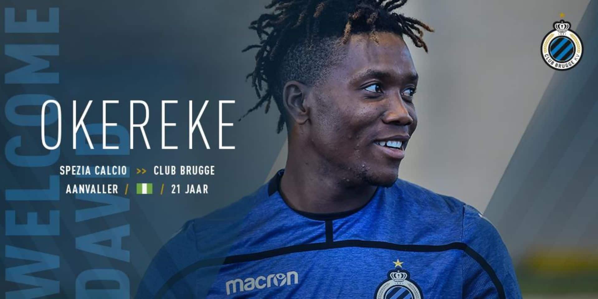 David Okereke signe au FC Bruges pour 8 millions: un transfert historique!