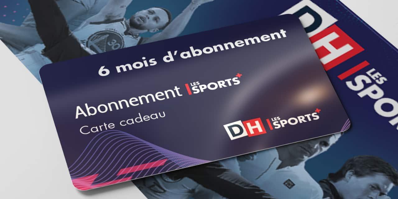En panne d'idée cadeau ? Offrez notre carte-cadeau avec 6 mois d'accès illimité aux Sports+ !