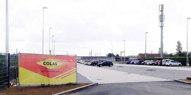 Ouverture retardée pour le parking de la gare de Silly ! - La DH