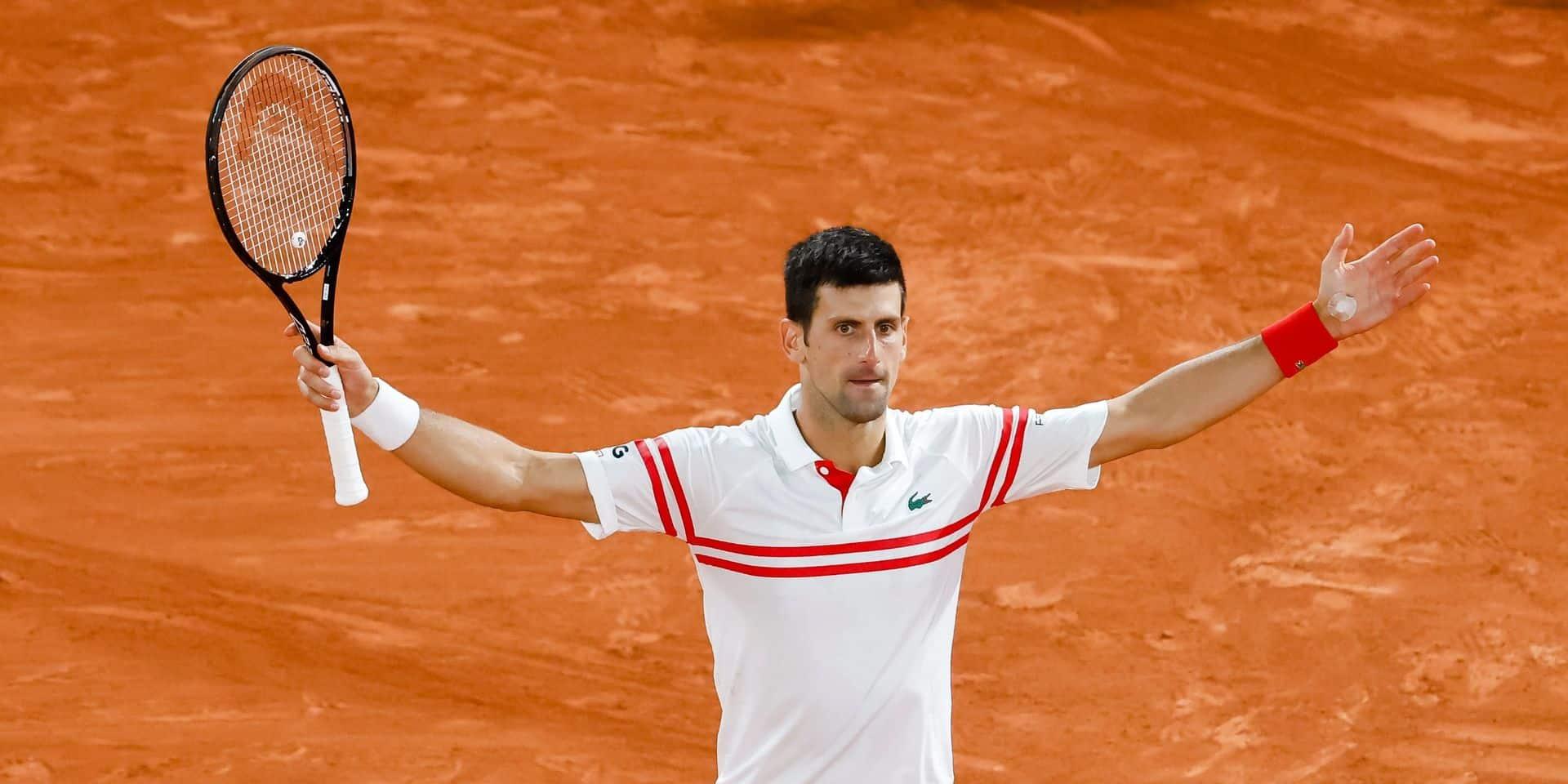 """Djokovic ne part pas gagnant face à Tsitsipas: """"Je m'attends à un autre match difficile"""""""