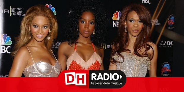 Beyonce Knowles, Kelly Rowland and Michelle Williams of Destiny's Child attend the 2004 Radio Music Awards at the Aladdin Hotel. Las Vegas, October 25, 2004. (Pictured: Beyonce Knowles, Kelly Rowland, Michelle Williams, Destiny's Child). Photo by Lionel Hahn/Abaca. ABACA 14022