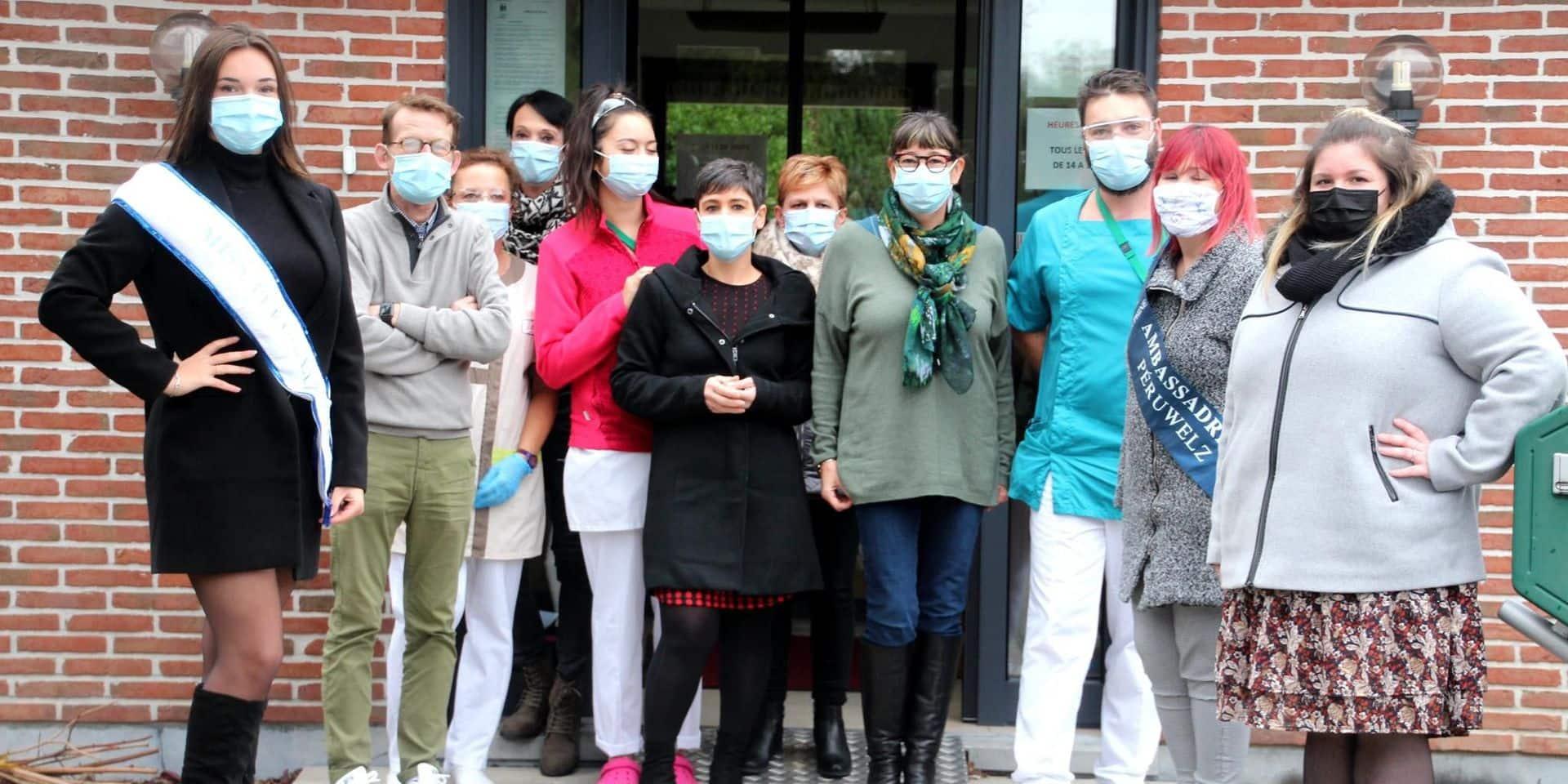 Péruwelz : les Miss viennent soutenir les maisons de repos