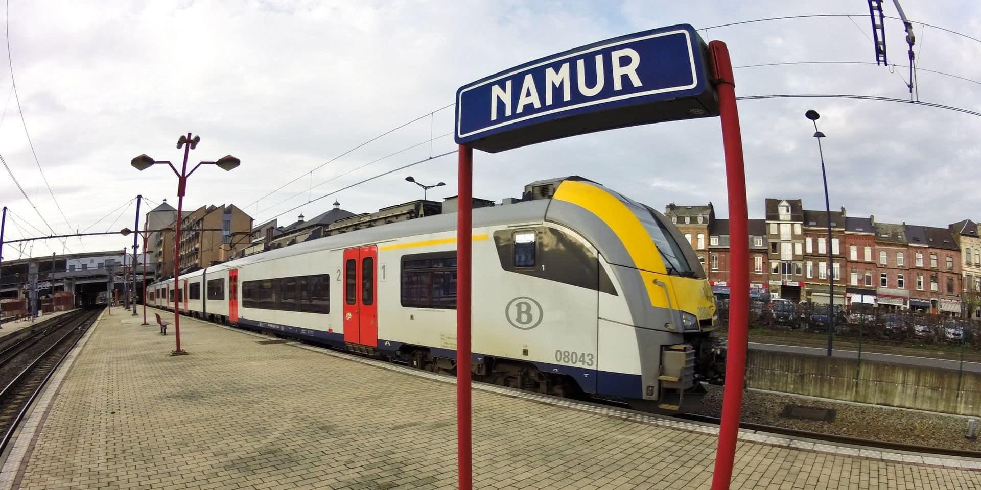 Intempéries: pas de train entre Namur et Gembloux avant le lundi 26 juillet, et non le 19