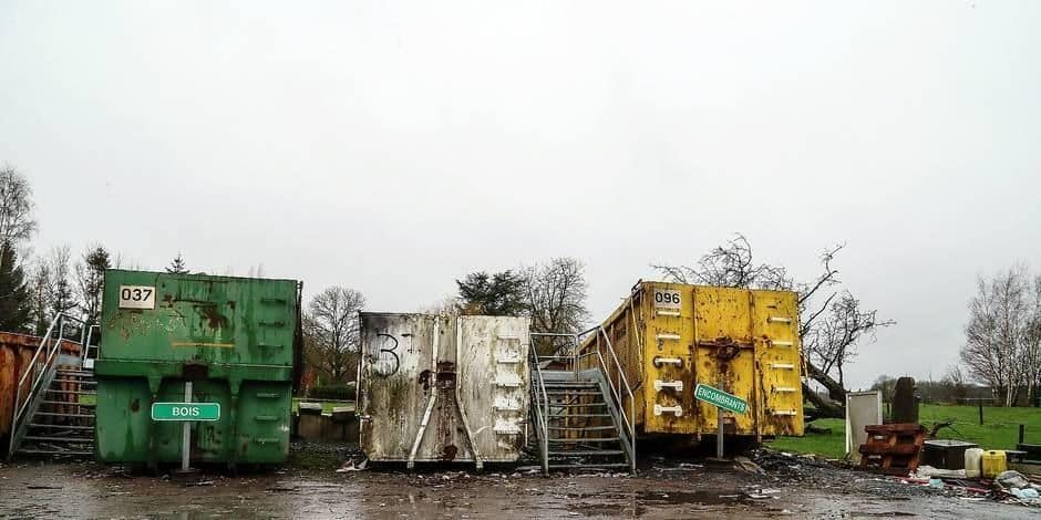 Le recyparc de Dour ferme ses portes pour cause de travaux
