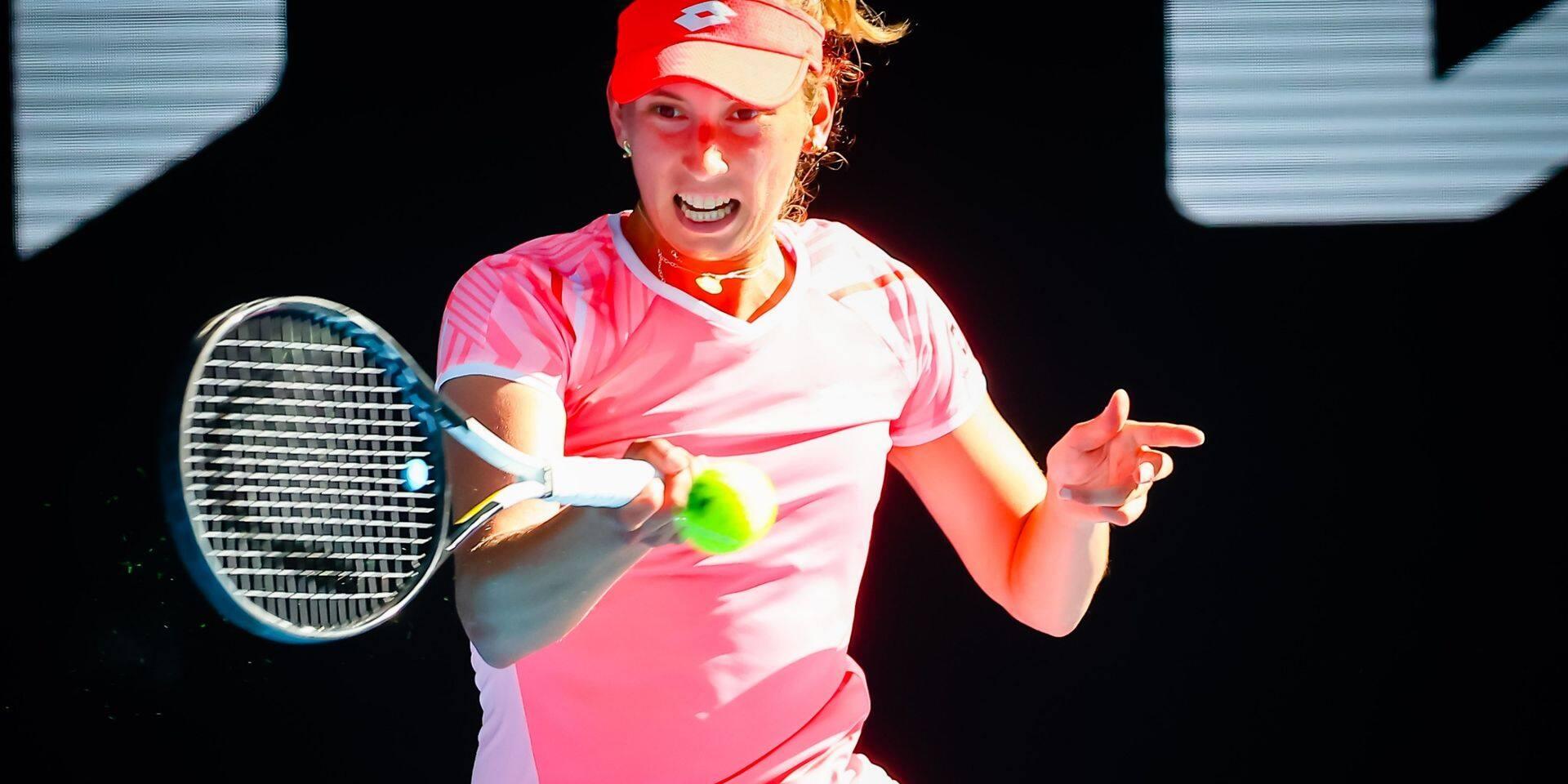 WTA Dubaï: Elise Mertens domine encore Garcia et file en quarts de finale