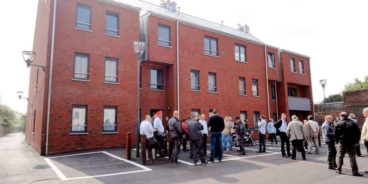 Courcelles : trois nouveaux logements de transit vont s'ouvrir