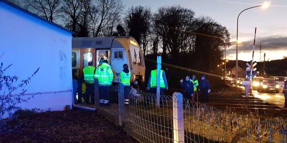 Accident entre un train et un piéton à Trooz: la victime est décédée
