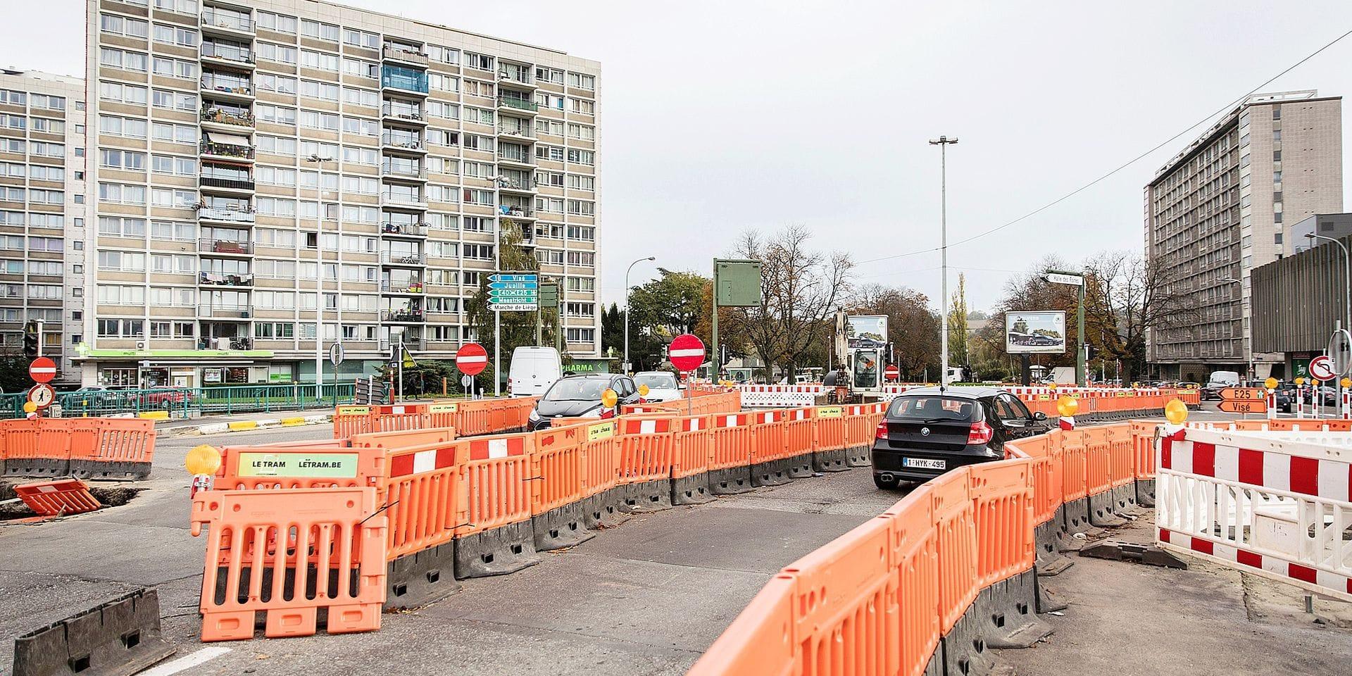 """Chantier du tram : bientôt l'enfer au """"Nord"""" de Liège"""