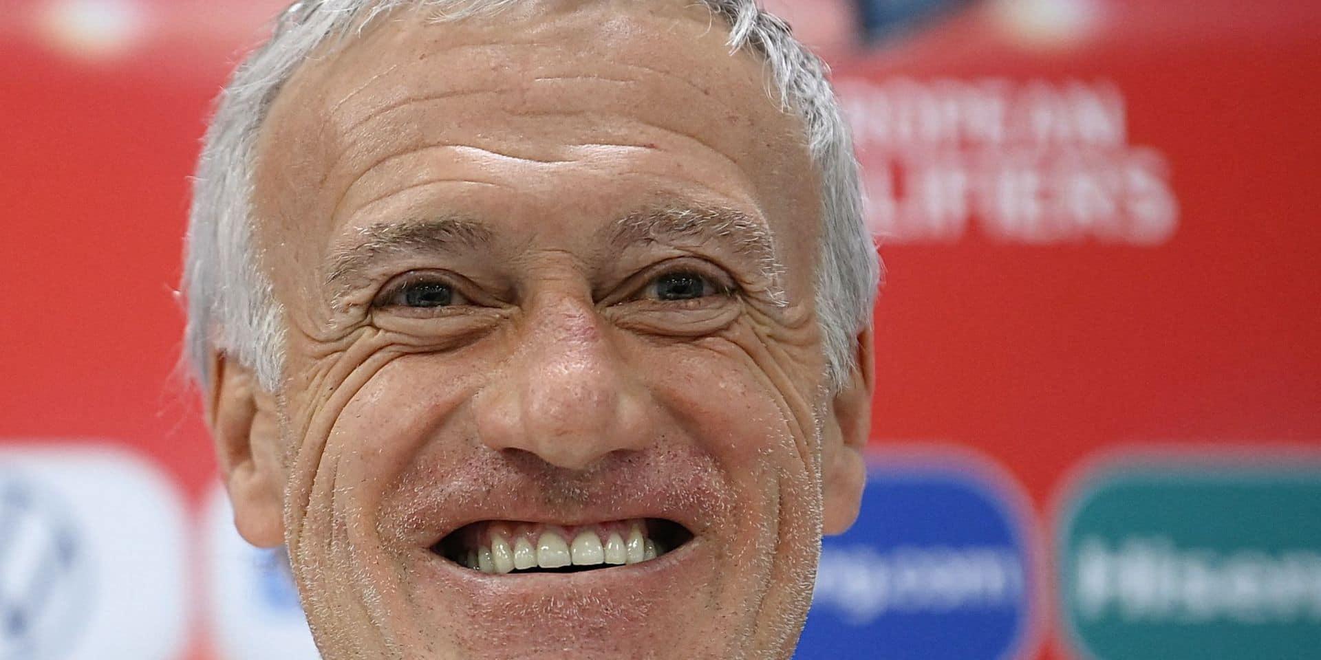 """Deschamps ironise sur le cas Benzema en conférence de presse: """"C'est un journaliste français qui vous a soufflé la question !"""""""