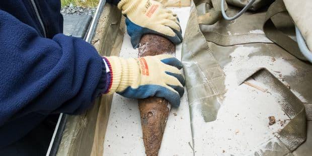 Une bombe découverte sur un chantier à Tubize