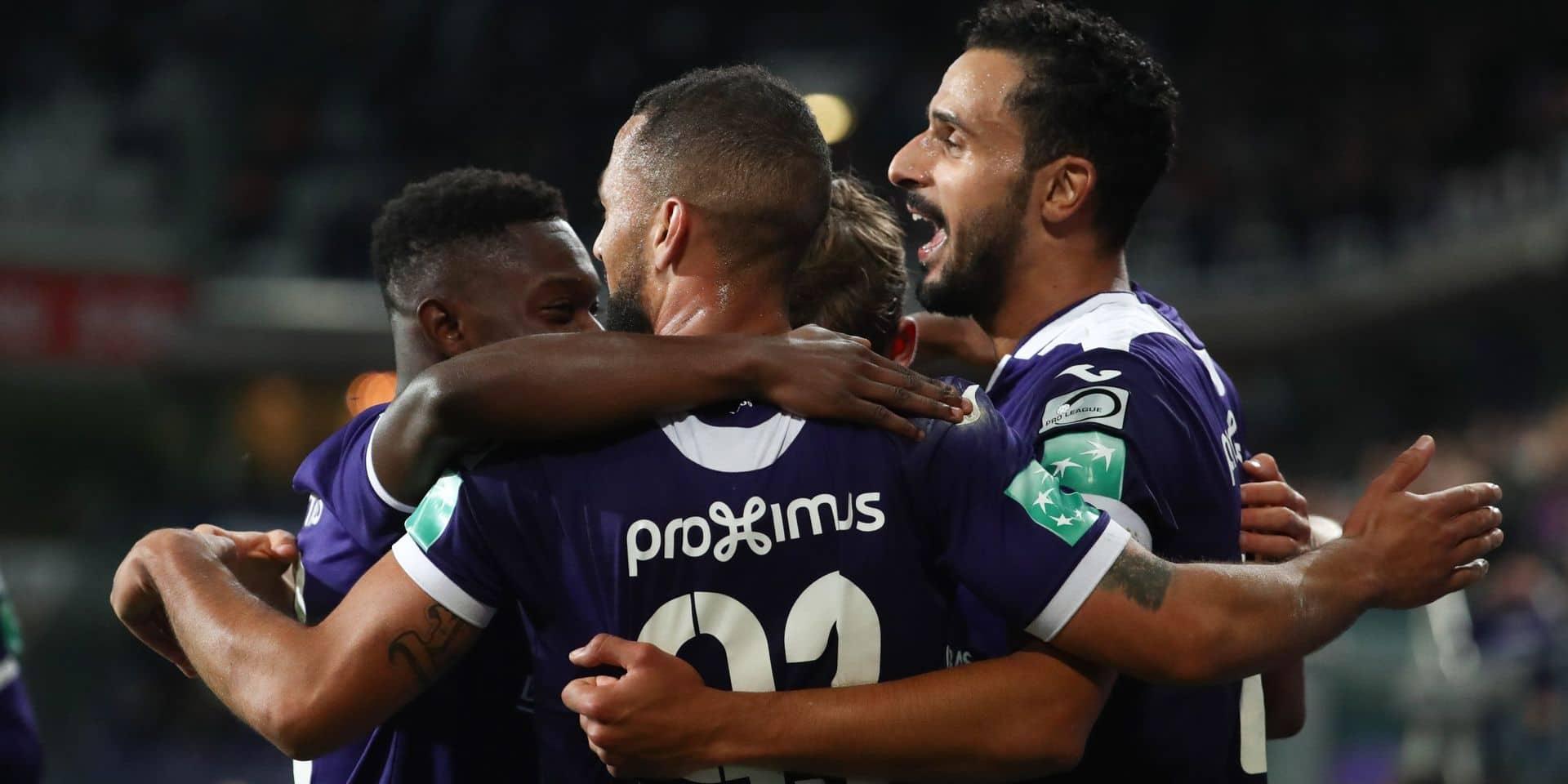 Un Anderlecht convaincant s'impose contre Saint-Trond pour la première de Vercauteren (4-1)
