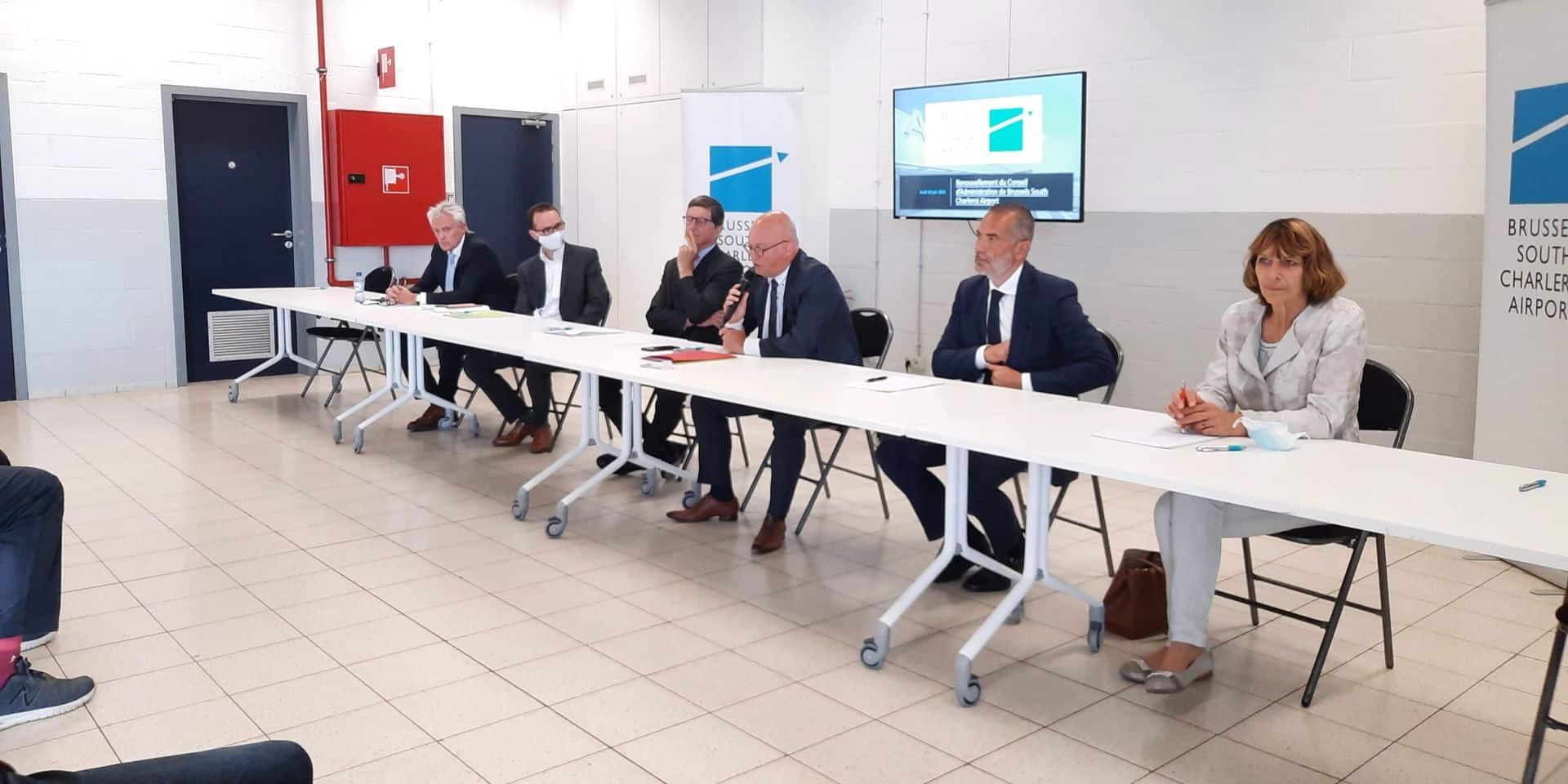 """Nouveau business plan, nouveau conseil d'administration: """"Un jour important pour l'aéroport de Charleroi"""""""