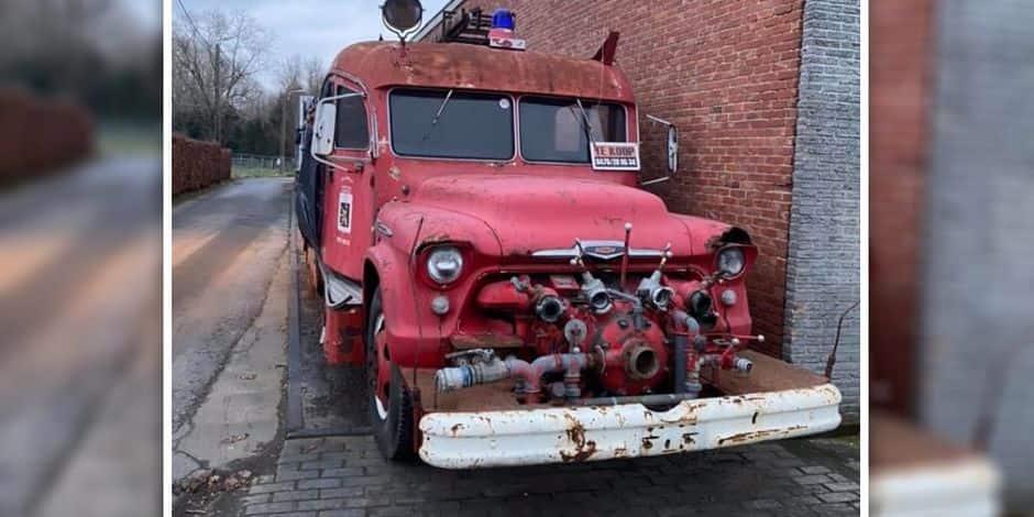 Un camion de pompiers venu du passé qui doit revenir à Nivelles