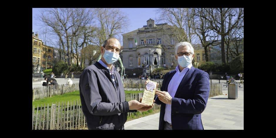 Ixelles reçoit le label d'or Commune amie des animaux