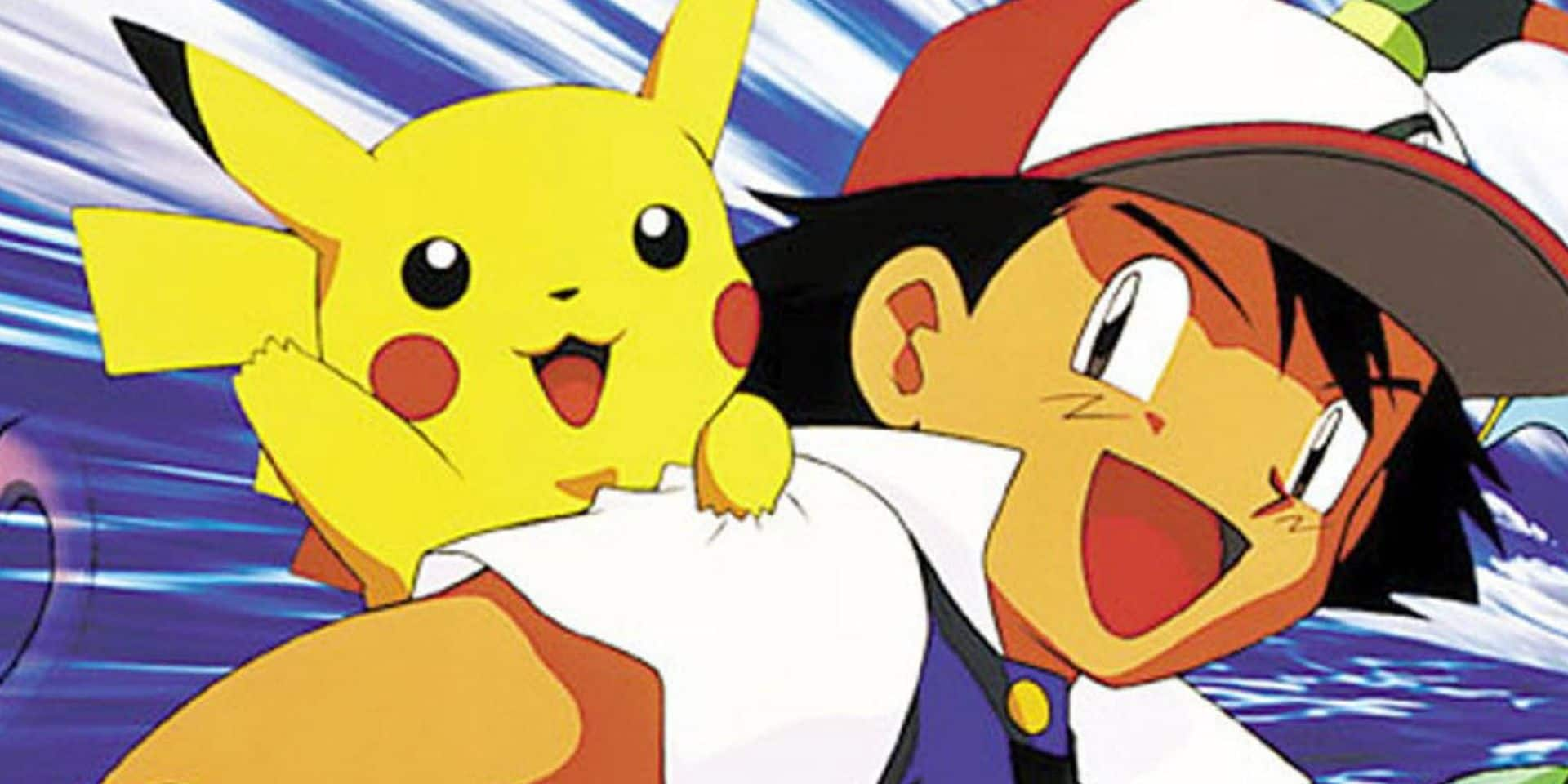 """22 ans après le début du dessin animé """"Pokémon"""", Sacha remporte enfin une Ligue"""
