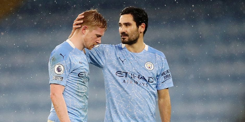 Kevin De Bruyne absent plusieurs semaines: comment City va-t-il s'adapter ?