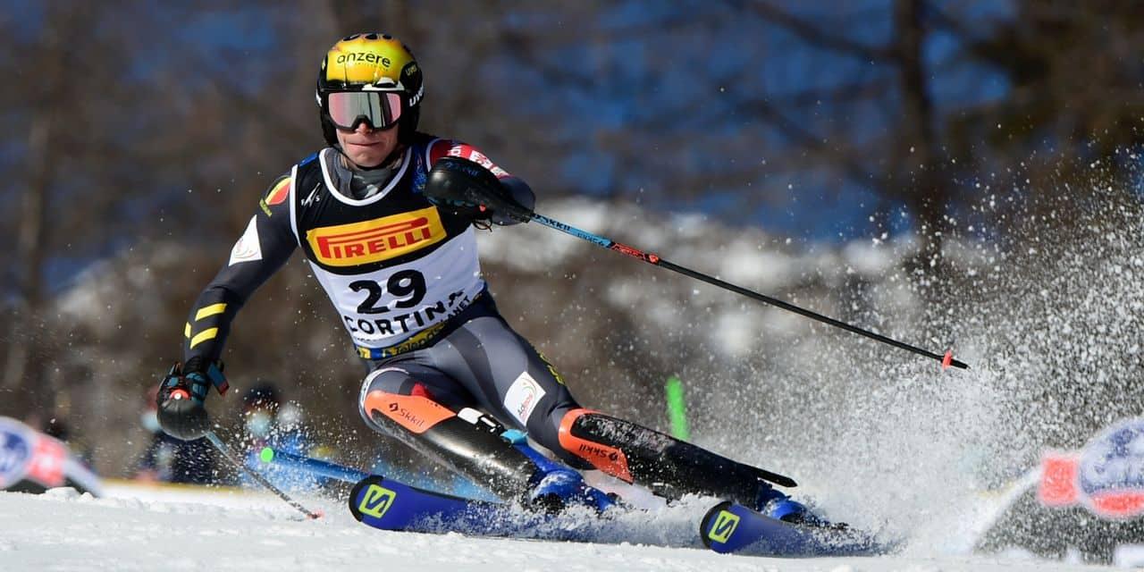 Armand Marchant 10e du slalom aux championnats du monde de ski alpin :