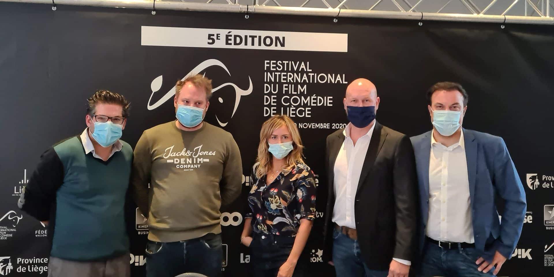 Enora Malagré et Pascal Légitimus en Cité ardente