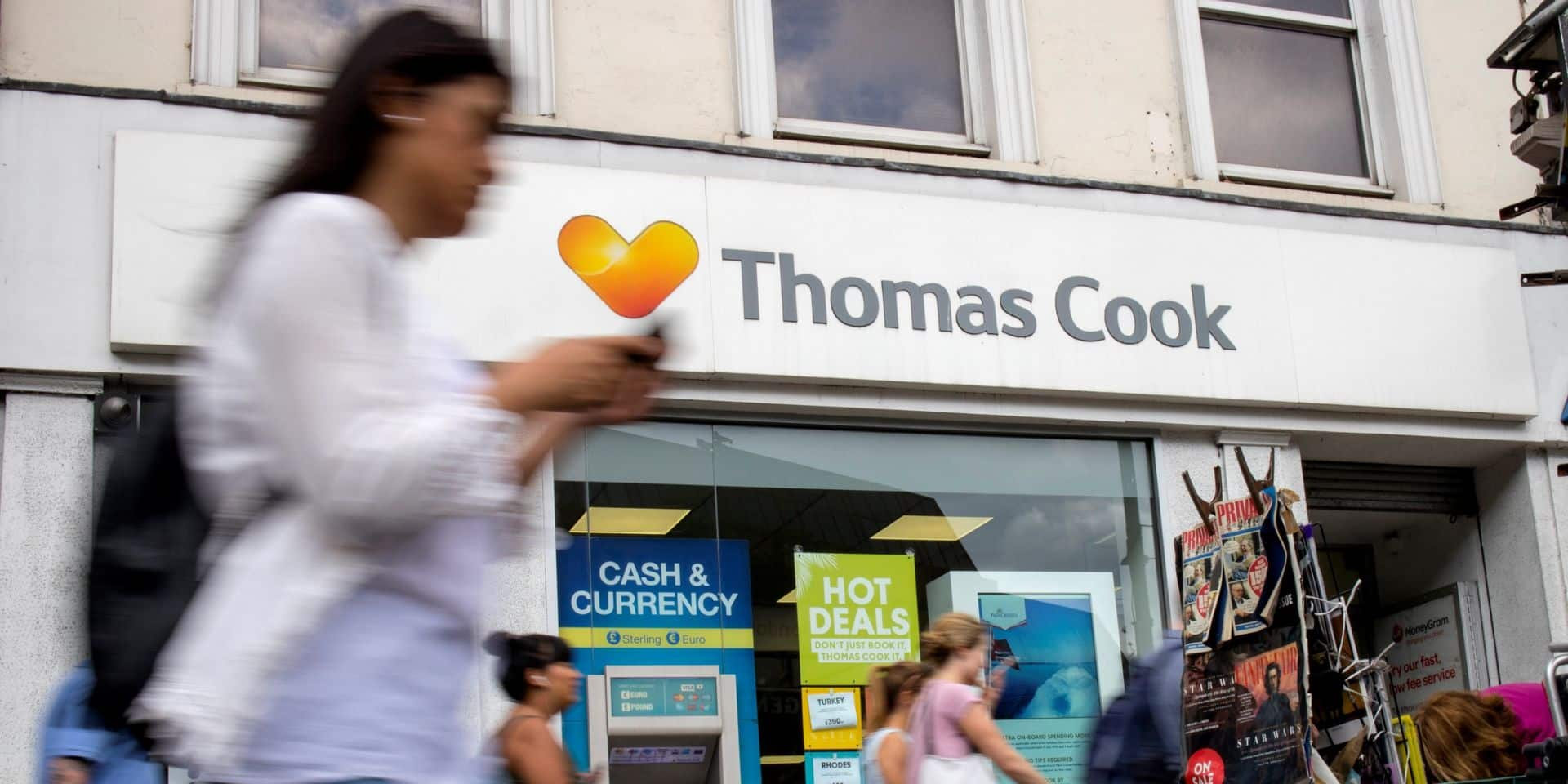 Thomas Cook a un impact sur Brussels Airport