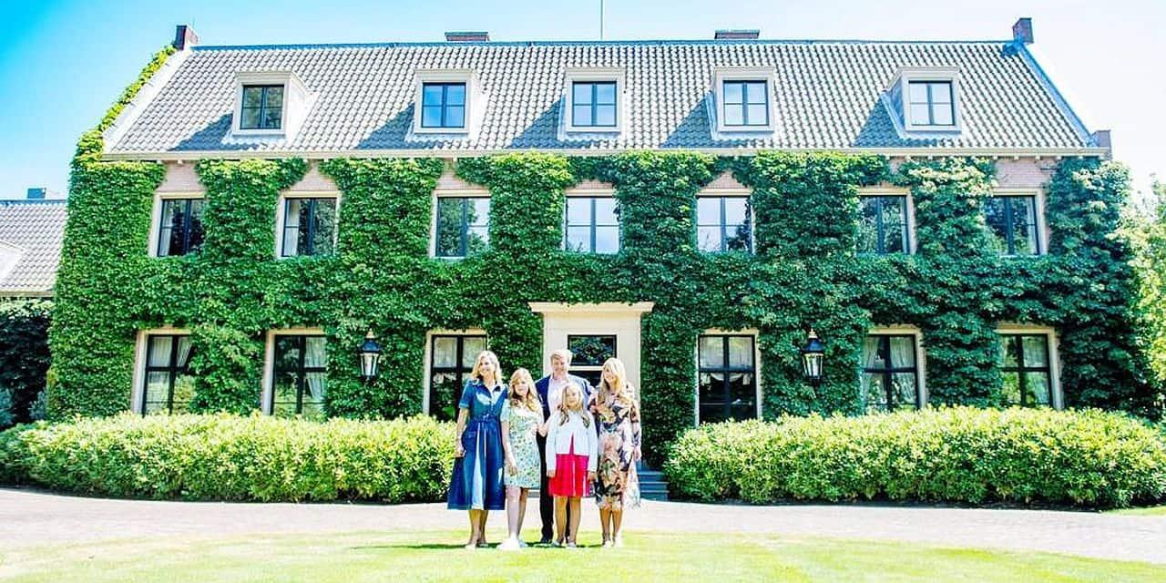 Willem-Alexander et Maxima des Pays-Bas déménagent