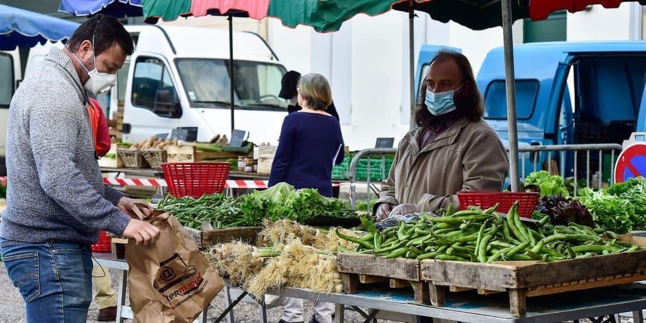 Les marchands essentiels uniquement acceptés aux marchés à Mouscron